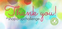 Shop Drop Challenge Wrap - http://www.mommygreenest.com/shop-drop-challenge-wrap/