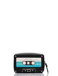 jazz things up mix tape coin purse by kate spade new york