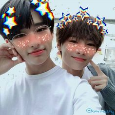 Jeongin and Hyunjin