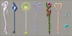 Staff designs (part 6) by Rittik.deviantart.com on @deviantART