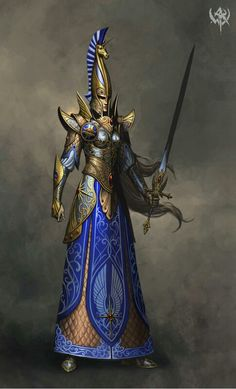 Sword master knightess