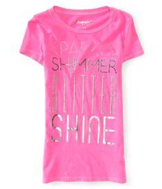Sparkle Shimmer Glitter Shine Graphic T