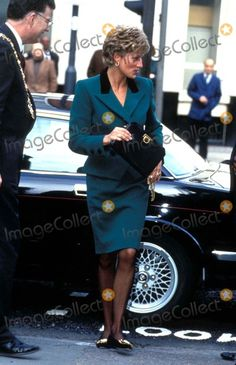 Princess Diana Fashion 1993 Alpha/Globe Photos,inc.