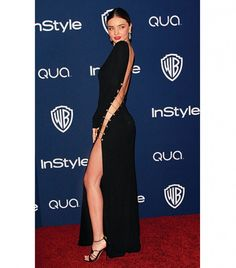 The Looks You Didn't See: The Best Golden Globes After-Party Ensembles via @Who What Wear