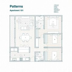 Section Drawing Architecture, Paper Architecture, Landscape Architecture Design, Architecture Plan, Small House Plans, House Floor Plans, Simple Floor Plans, Small Bungalow, Floor Plan Drawing