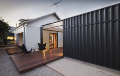 Use shipping container or shed?