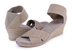 405b8fa55958 Charleston Shoe Co. Cannon Linen Sandal - Holly  amp  Brooks   shophollyandbrooks  charlestonshoeco