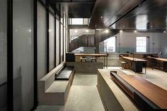 Garage café and offices by Neri & Hu Beijing  China