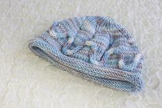 Hand Knitted Newborn Baby Boy Hat Beanie Style in by heaventoseven