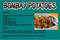 SW Bombay potato