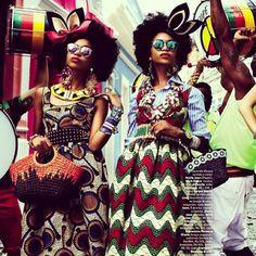 Stella Jean in Vogue Brazil