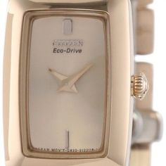 Women watches | Women watches gold Citizen Women's EG2903-51Q Eco-Drive Jolie Bracelet Watch