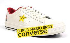 Converse, Super Mario Bros, Converse Mario, Games, Japan, Style, Menswear, Style,