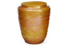 Orange Durand Glass Vase on OneKingsLane.com
