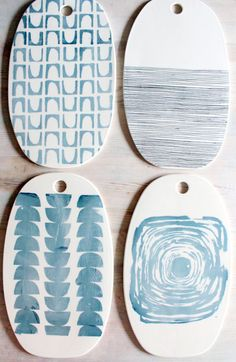 one porcelain oval cheese tray platter screenprinted design. IN STOCK
