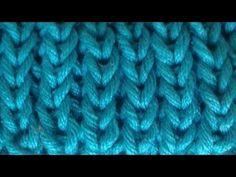 Patent mit tiefer gestochenen Maschen - Vollpatent - Patentmuster - YouTube