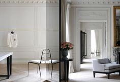 Joseph Dirand redesign of Balmain salon in Paris