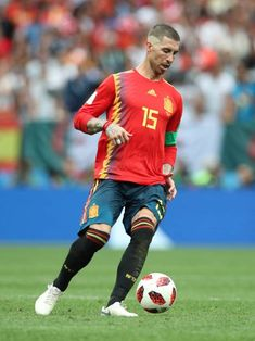 Sergio Ramos Spain v Russia Real Madrid Team, Football Players, Russia, Spain, Wallpaper, Sergio Ramos, Blue Prints, Soccer Players, Sevilla Spain