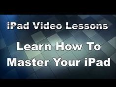 Easy iPad Video Lessons - Best iPad Training Videos - iPad Classes for Beginners Cell Phone Hacks, Iphone Hacks, Iphone 5s, Computer Internet, Computer Technology, Computer Tips, Logitech, Iphone Information, Script