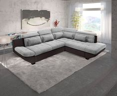 wohnlandschaft - Google-Suche Sofa, Couch, Modern Sideboard, Furniture, Home Decor, Google, Products, Artificial Leather, Alone