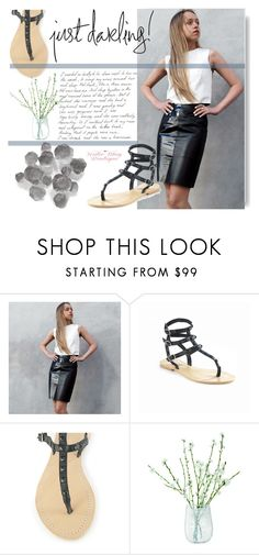"""""""Katie May Boutique #43"""" by edita-m ❤ liked on Polyvore featuring LSA International, Palecek and KatieMayBoutique"""