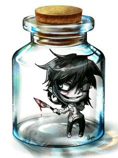 Jeff in a jar!