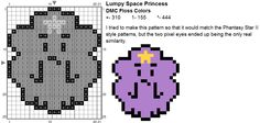 Dork Stitch: Free Sprite Patterns December Day 22: Oh My Glob
