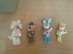 Plastelinowe toy animatroniki