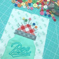 Bee In My Bonnet: Bee Happy Sew Along...Week Nine!!