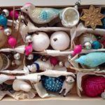 """Mi piace"": 12, commenti: 1 - Desiree (@desiree_enzo) su Instagram: ""Antique Christmas Harvest #antiquechristmas #antiquechristmasornaments"""
