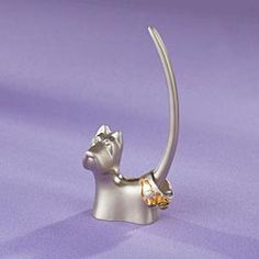 Florentine Terrier Ring Holder I want! Ring Holders, Scottie Dogs, Scottish Terriers, Things To Buy, Stuff To Buy, Jewellery Display, Woodstock, Artisan Jewelry, Womens Scarves