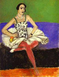 The Ballet Dancer via Henri Matisse