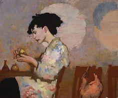 Milt Kobayashi...lush painting! love it