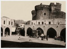 Rhodes, Greece, The Past, Louvre, Island, Building, Travel, Greece Country, Viajes