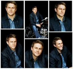 Charlie Hunnam, would've been a better Christian Grey than the other guy! Charlie Sons Of Anarchy, Charlie Hunnam Soa, 50 Shades Of Grey, Fifty Shades, Cute Actors, Christian Grey, Celebrity Crush, Pretty People, Beautiful Men
