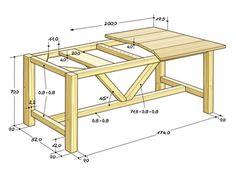 Sind Sie in letzter Zeit mal durch Möbelgeschäfte geschlendert? Dann haben Sie sicher auch Möbel aus recyceltem Bau- oder Bootsholz gesehen, die zurzeit modern sind. Esstische in diesem Stil sind wegen des Materials nie billig. Gehen wir einmal von einem Preis von 1200 Euro für einen entsprechenden Tisch aus – dafür kann man eine Menge Holz kaufen, haben wir uns gedacht.