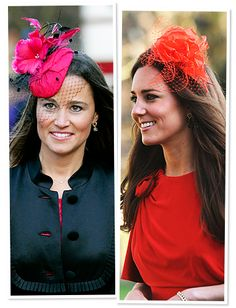 Formal Accessory: Color-Pop Fascinator  Sure, the English are known for their headwear, but with so many to choose from (think: Princess Beatrice), the girls' bright, floral, tulle-adorned fascinators speak to their similar tastes.
