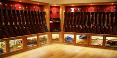 A gun room would make a lot of sense for families with outdoorsmen.