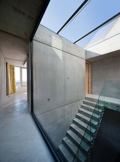 Hill Top House, Oxford - Adrian James Architects.  I like how this building is unified with its use of concrete throughout!