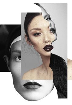 <p>Last year we introduced you to Madrid-based mixed media artist Pablo Thecuadro and his stunning fashion collages. After a big viral success from Trendland with more than 22,000 shares (just on Pint