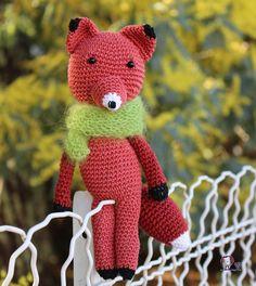 «Terminé ( avec un autre fil) #renard #fox#amigurumi #crochet #homemade #handmade #mimosa #bergeredefrance #cotonfifty #CrocheterSonDoudou#MarieClaireIdees#»