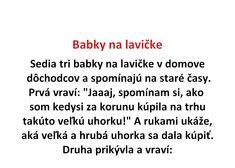 Babky na lavičke - Spišiakoviny.eu