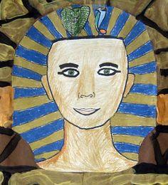 Cassie Stephens: In the Art Room: Walk Like an Egyptian