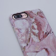 Marble Case for iPhone 7 Plus - Rose - Elemental Cases - - 4
