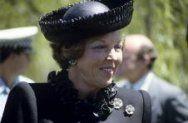 Koningin Beatrix op bezoek in Australië, 1988.