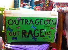 other side of the cooler I made #cooler #formal #rage #craft #sorority