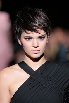 Kendall Jenner and Gigi Hadid Just Rocked Matching Pixie Haircuts via Brit   Co