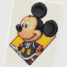 PDF Cross Stitch pattern : 0248.Micky by PIXcross