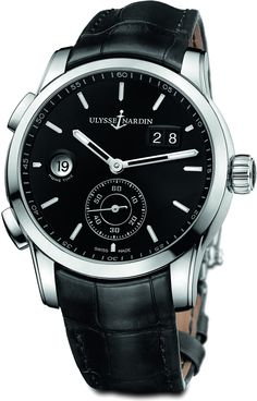 Ulysse Nardin - Dual Time Manufacture | 3343-126_92
