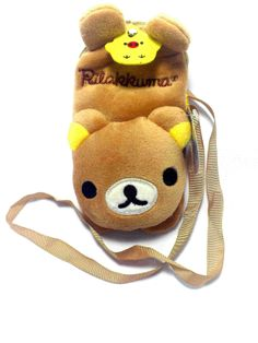 Christmas Sale Rilakkuma Mobile Phone Purse with Strap from 55.000 IDR to 45.000 IDR. Until 20th December 2013. Visit us www.kawaiishoppu.com